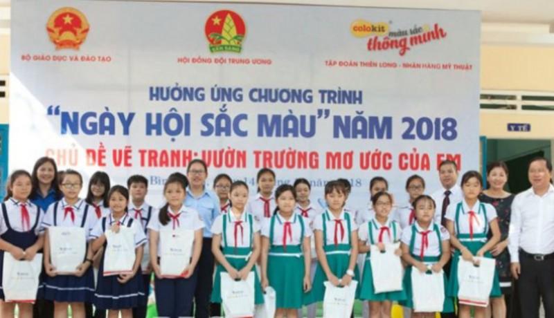"""Bình Định: """"Ngày hội sắc màu"""" năm 2018 khu vực miền Trung - doanthanhnien.vn"""