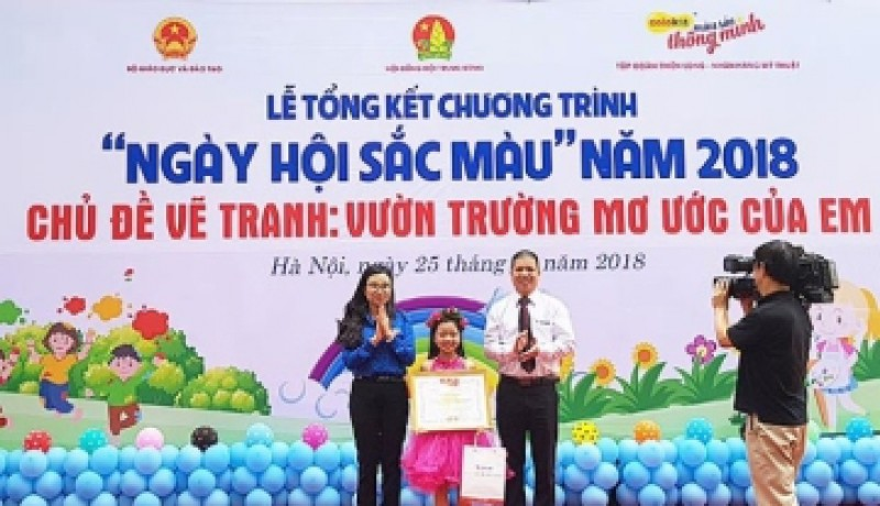 Thí sinh Hà Nội giành giải đặc biệt thi vẽ